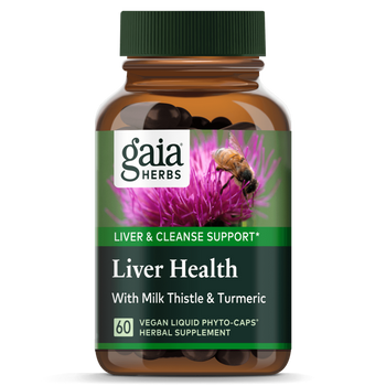 Liver Health 60 Liquid Herbal Extract Capsules Extra Strength