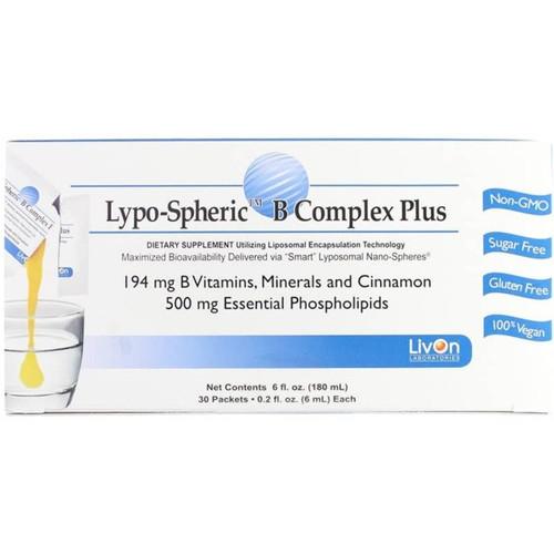 Lypospheric B Complex Plus 30 Packets