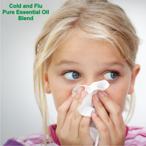 Cold and Flu Blend Pure Essential Oil