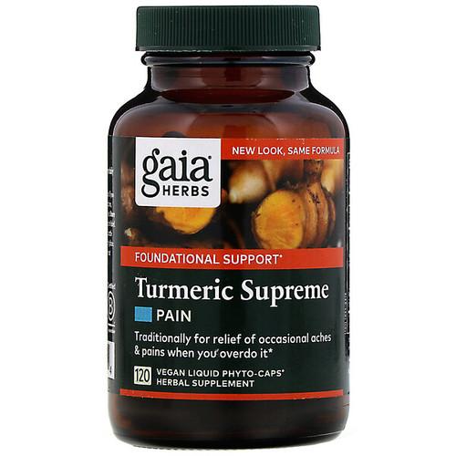 Turmeric Supreme Pain 120 Liquid Phyto-Caps
