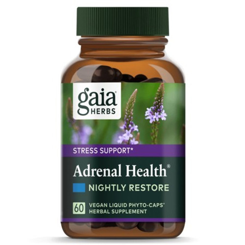 Gaia Herbs Adrenal Health Nightly Restore