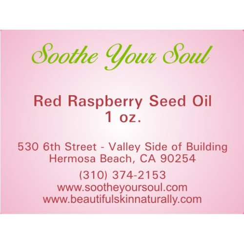 Raspberry Red Carrier Oil 1 oz