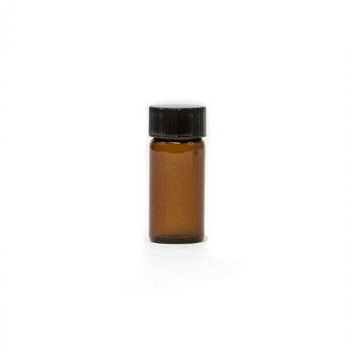 1/4 oz Amber Glass Vial with Cap & Orifice Reducer