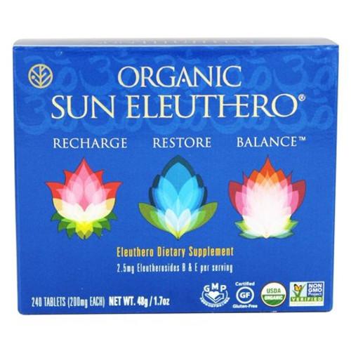 Sun Chlorella Organic Sun Eleuthero