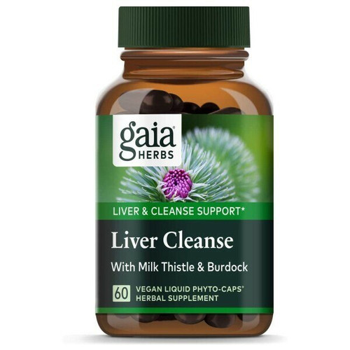 Liver Cleanse 60 Liquid Phyto Caps
