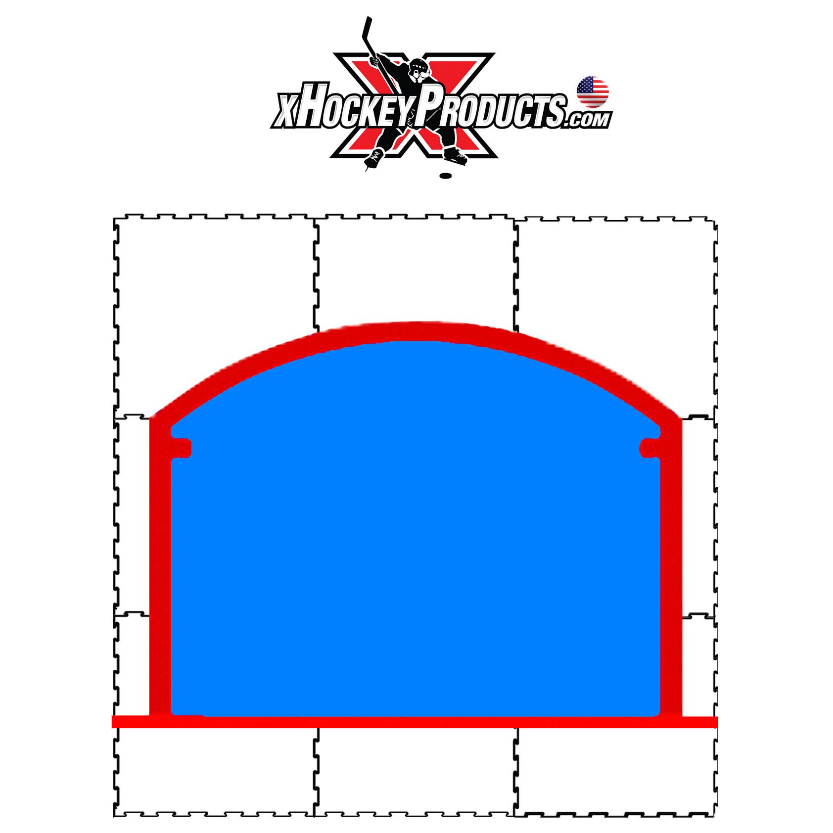 xGlide15 Goal Crease