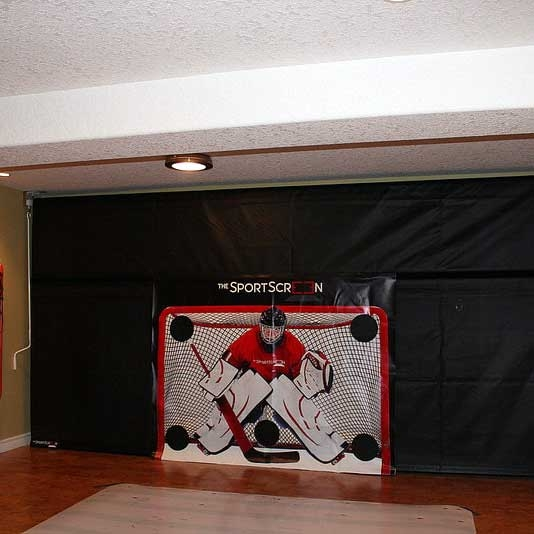 The SportScreen Manual Rollup Shooting Tarp