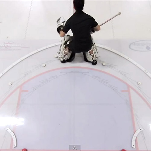 xCrease Goalie Slideboard Commercial