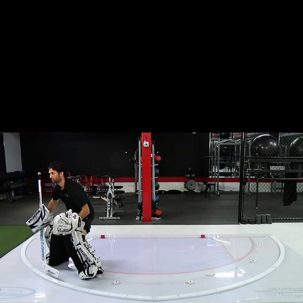 xCrease Goalie Slideboard Commercial