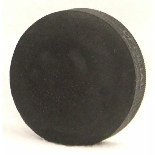 Black 3.2 oz Sponge Hockey Puck