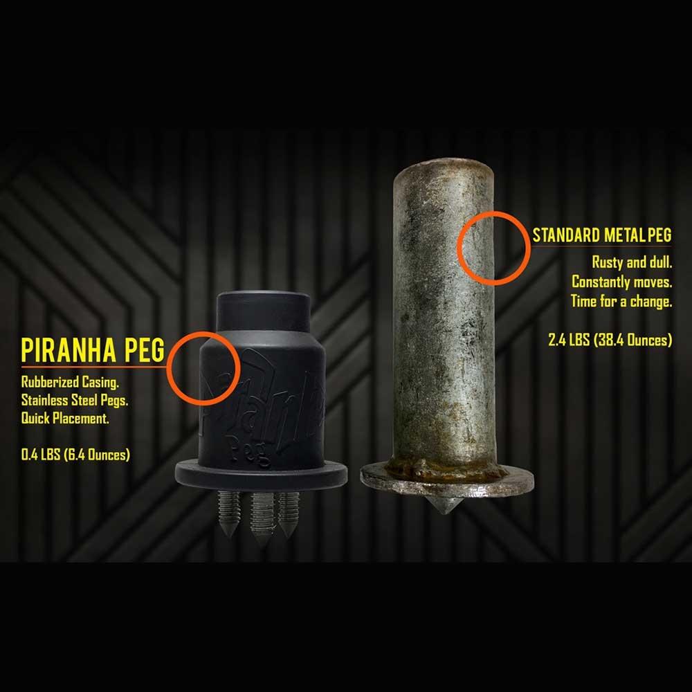 Piranha Pegs