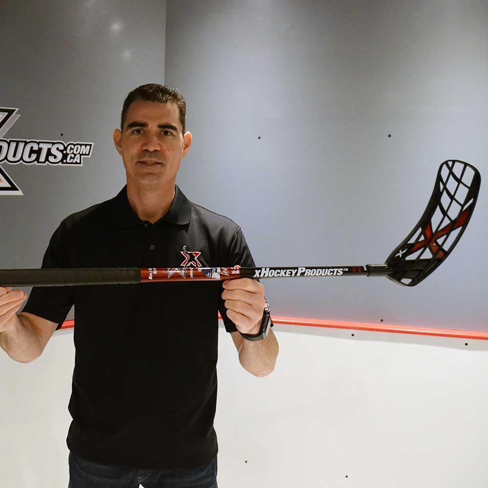 XHP Floorball Stick SQUARE - Premium Floor Hockey Stick