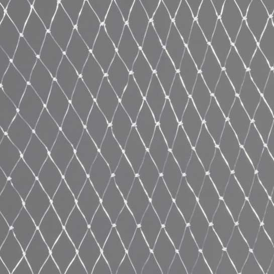USED NHL Clear Monofillament Netting - 20' x 120'