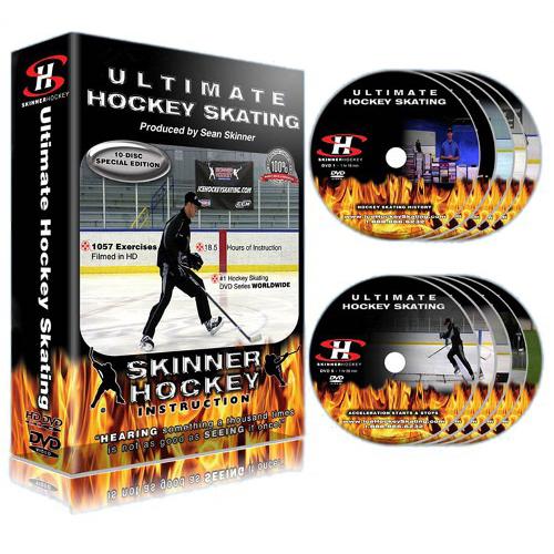 Sean Skinner - Ultimate Hockey Skating Volume's 9 and 10: Dryland Training for Hockey Skating