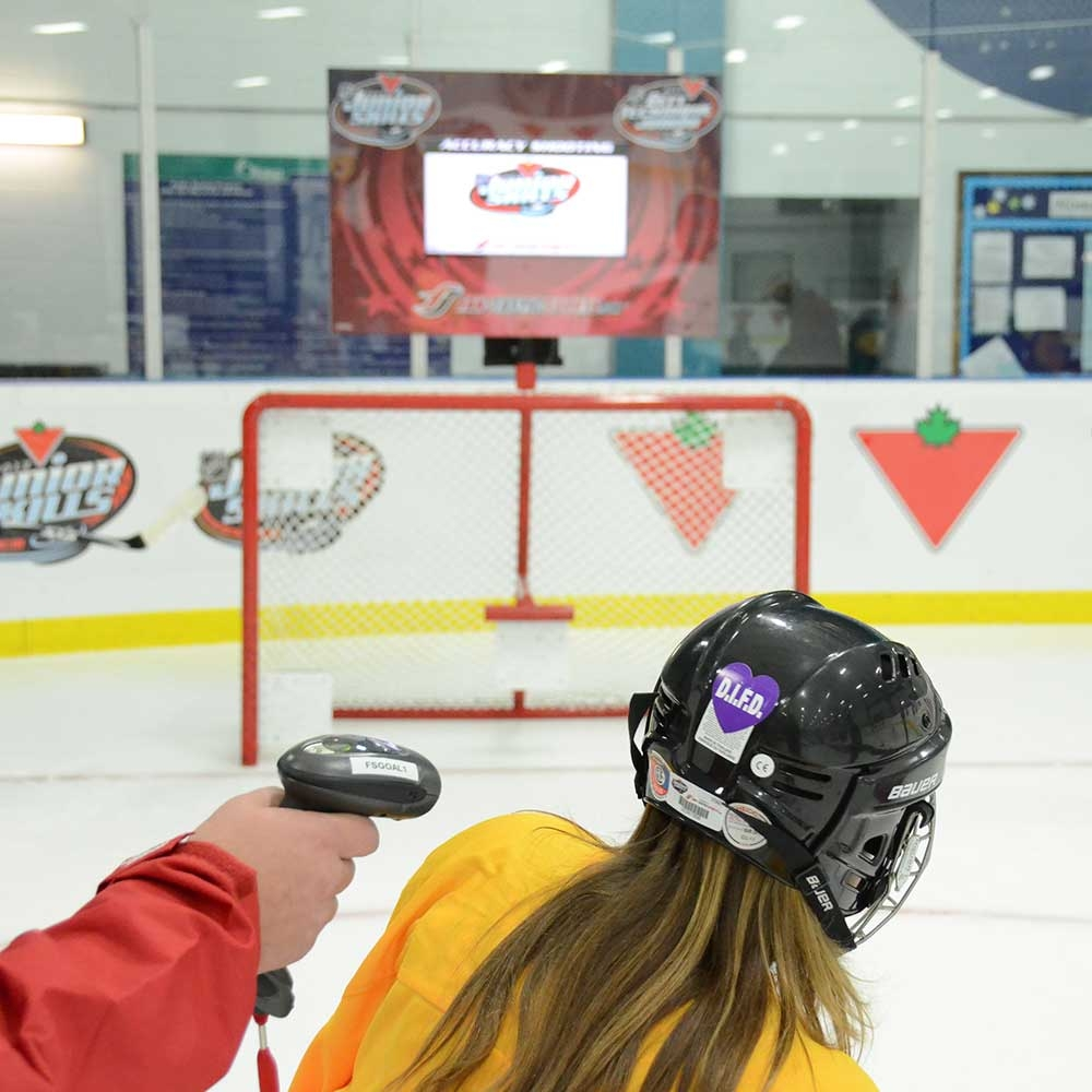 xHockeyProducts On-Ice Skills Challenge & Timing System