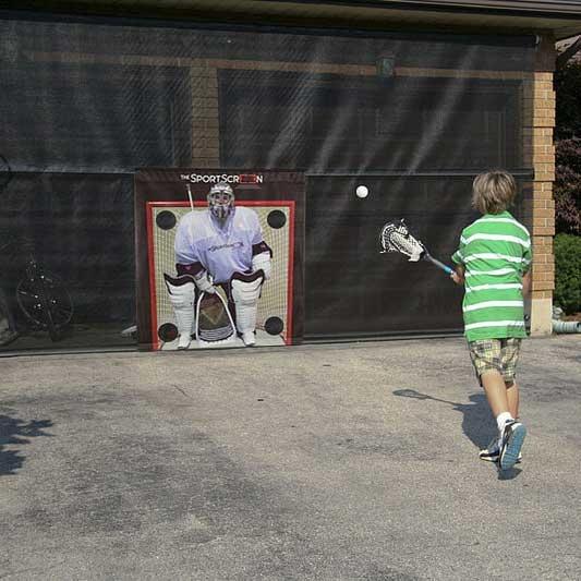 The SportScreen Target Lacrosse Goalie