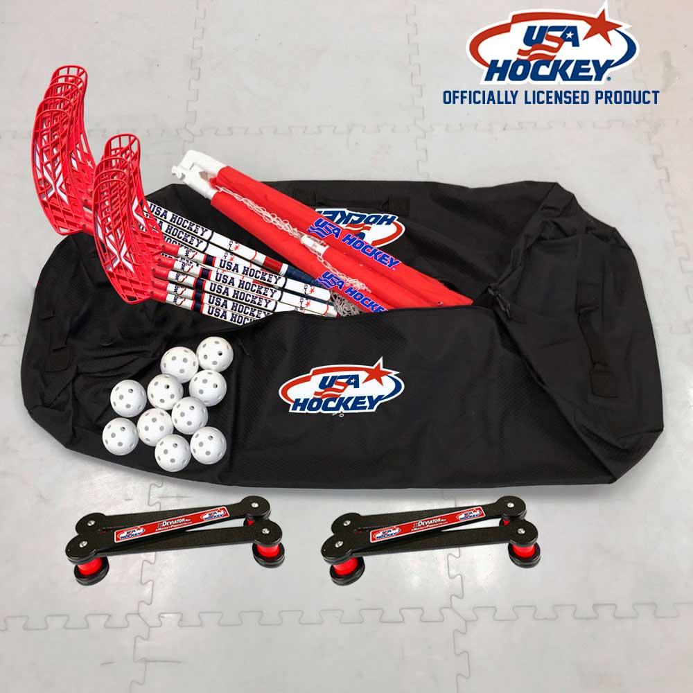 Officially Licensed USA Hockey Floor Hockey Bag