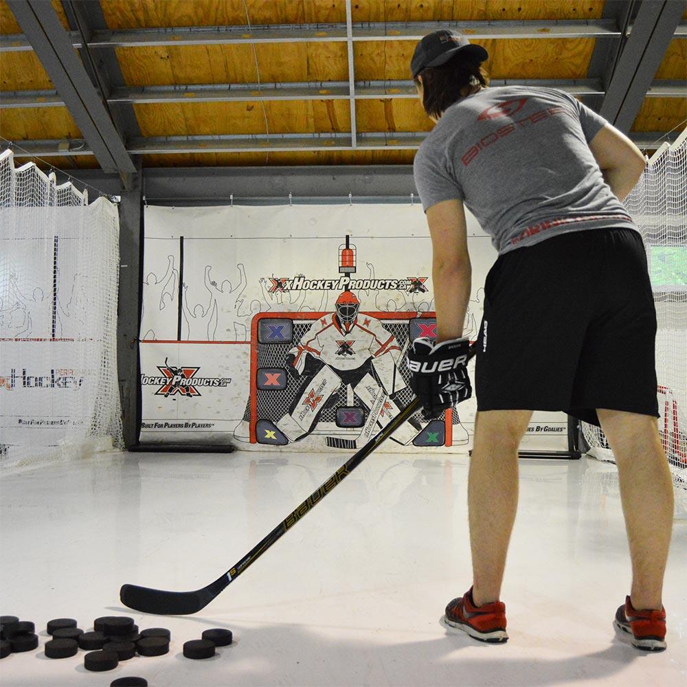 xTarp Hockey Shooting Tarp - Heads Up Edition