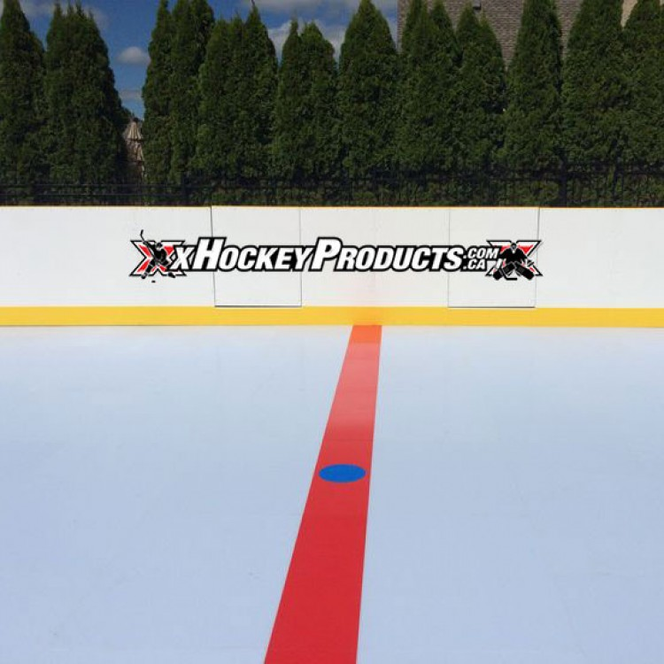 xGlide15 Solid Red Line - Synthetic Ice