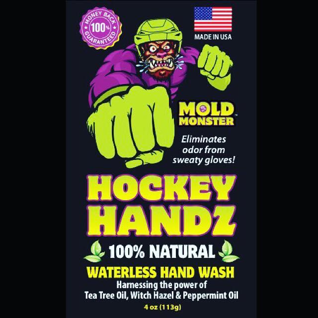 Hockey Handz All Natural Waterless Hand Sanitizer