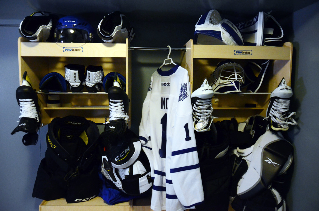 PROHockey Locker Unfinished
