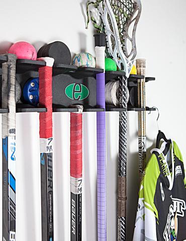 Evolution Hockey and Multi-Sport Stick Rack Organizer