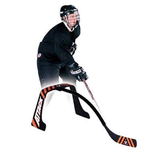 The Attack Triangle at xHockeyProducts continues to be one of the best training device for simulating game-situation stickhandling.
