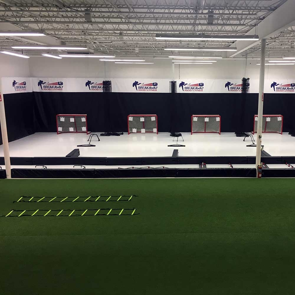 Custom Training Facility Tarps