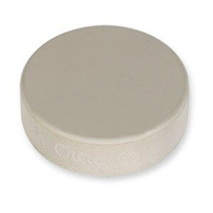 White Hockey Puck 6oz