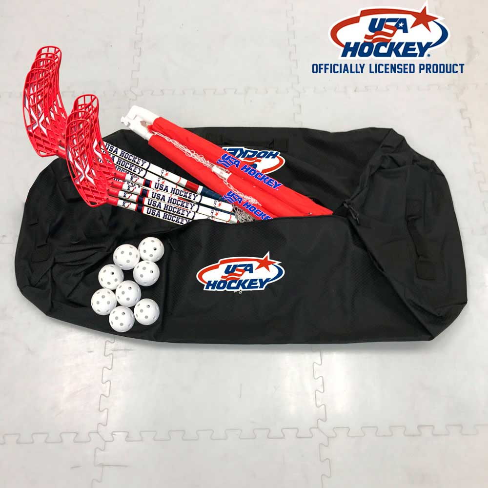 USA Hockey Floor Hockey Kit