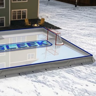 Iron Sleek 30 x 45 Skating Rink Kit