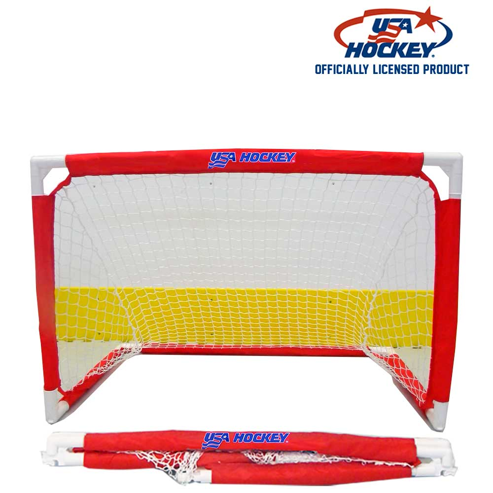 USA Hockey Folding Mini Hockey Goal