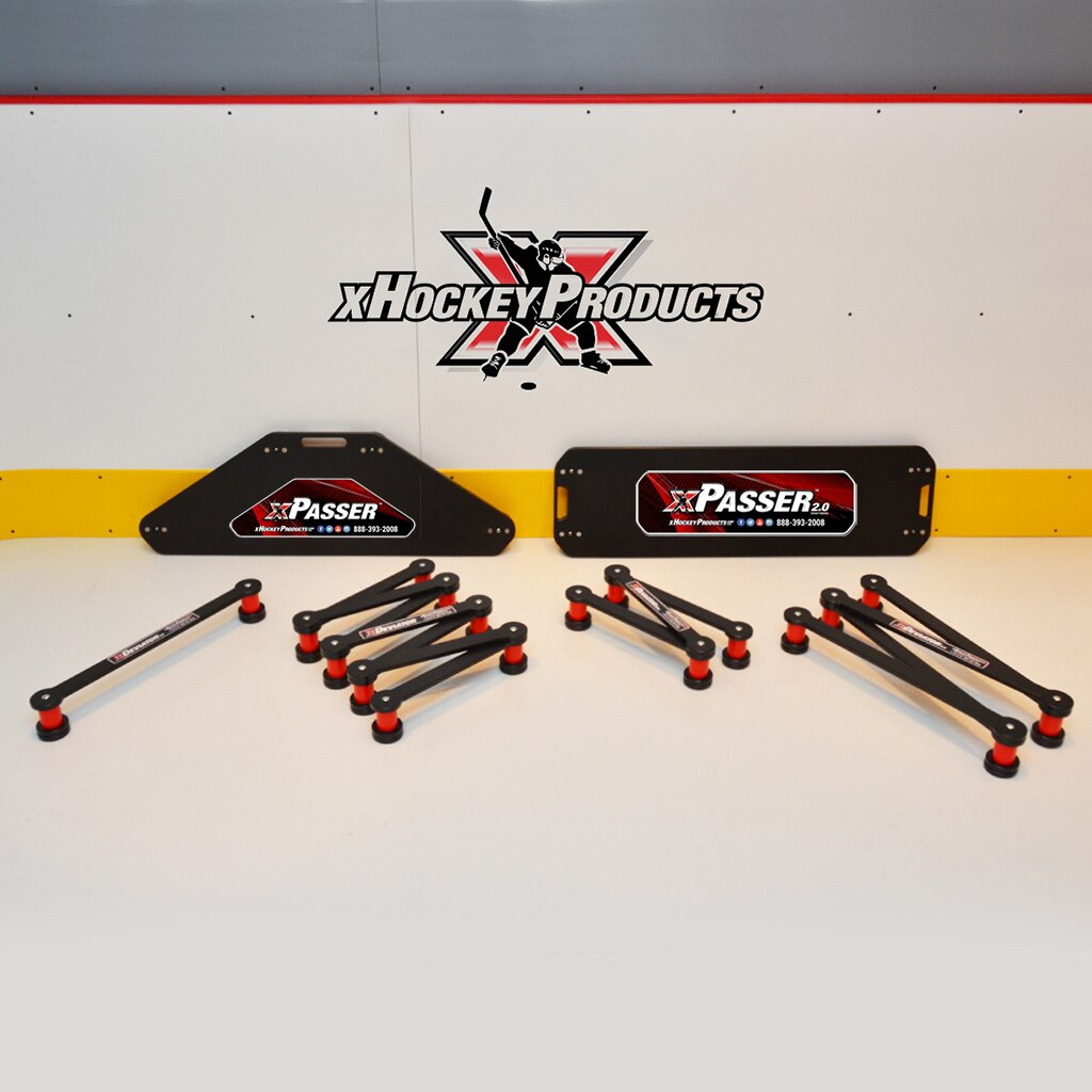The xPasser returns a hockey pass at virtually the same speed as that which it received a pass.