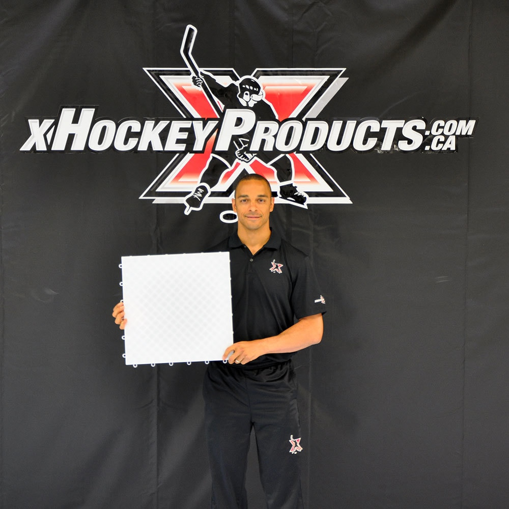 "xTiles™ 18"" Hockey Dryland Flooring Tiles"