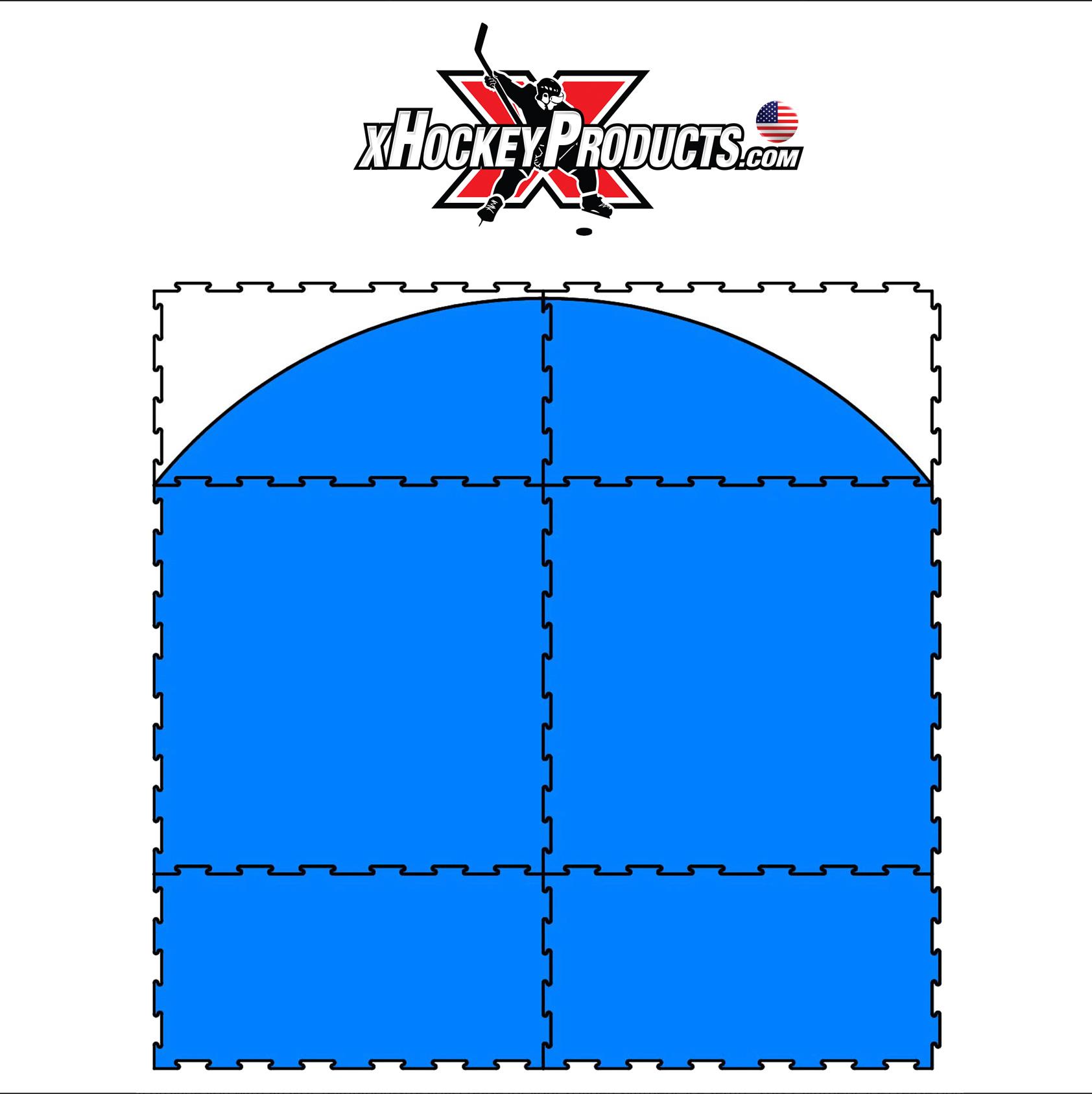 xGlide8 Goal Crease