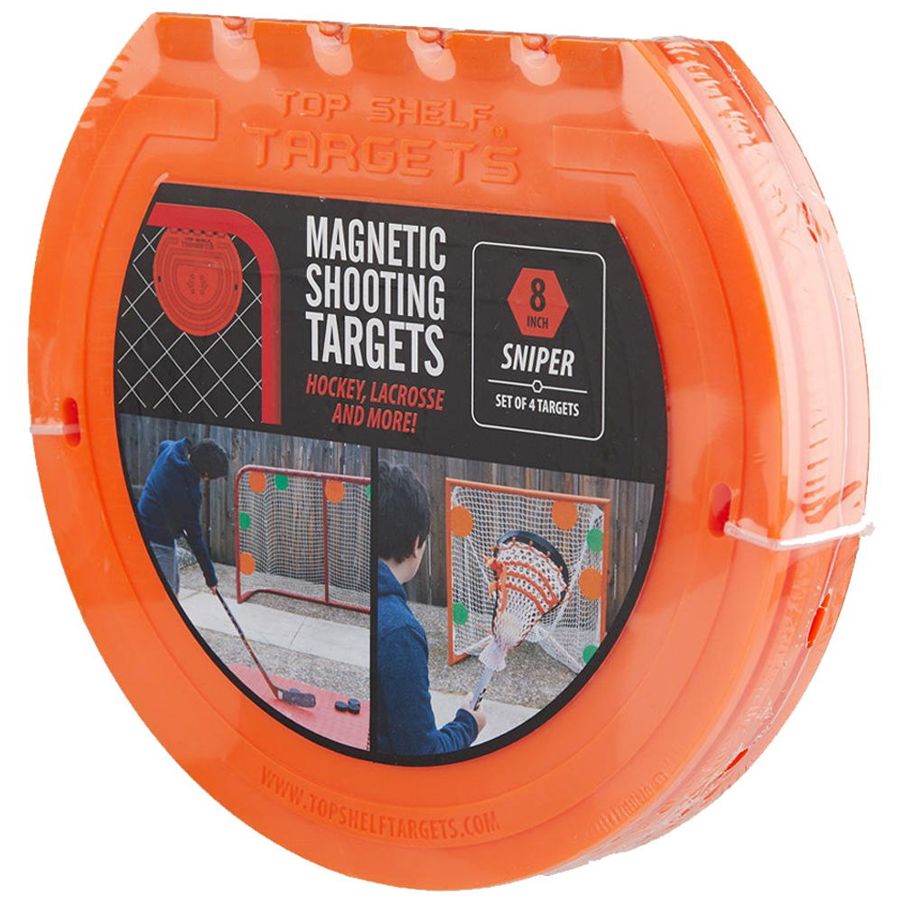 "Top Shelf Targets Sniper Magnetic Shooting Targets - 8"" (4-Pack)"