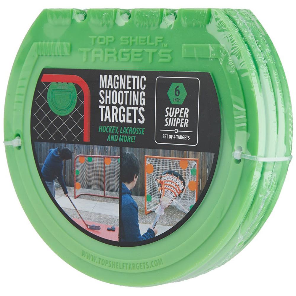 """Top Shelf Targets Super Sniper Magnetic Shooting Targets - 4"""" (4-Pack)"""