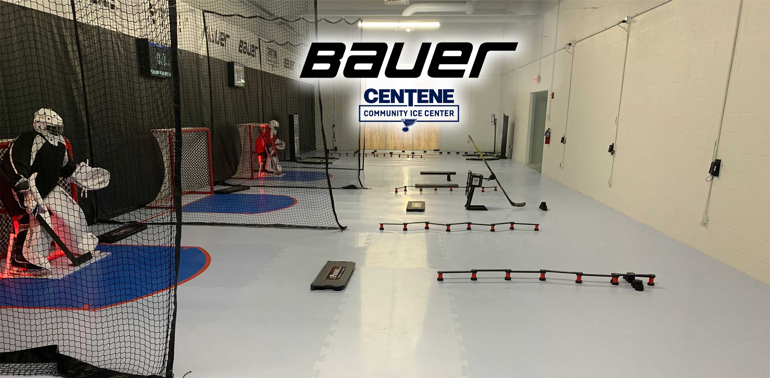 Bauer & St. Louis Blues Skills Center