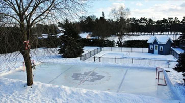 Outdoor Hockey Facility
