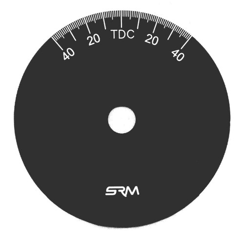 BSA  A65 DEGREE WHEEL CC-1065