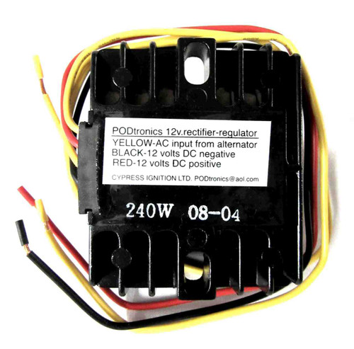 PODTRONICS 3 PHASE 12V RECTIFIER-REGULATOR