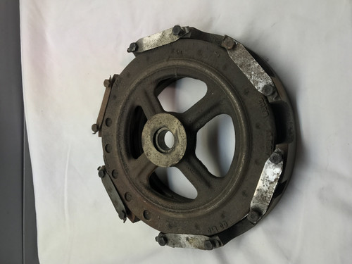 57-3708USED PRESSURE PLATE, CLUTCH, 3CYL, USED.