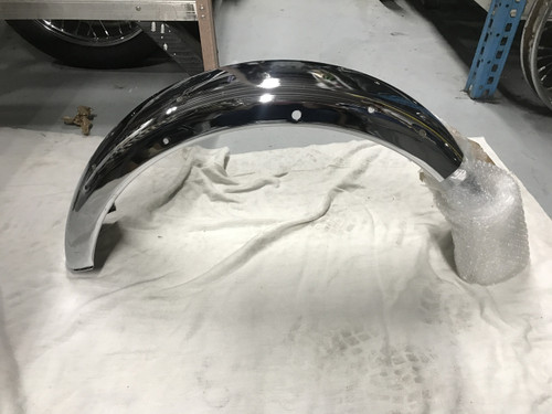 83-3565 FENDER, REAR BSA TRIUMPH 1971 - 1972  CHROME