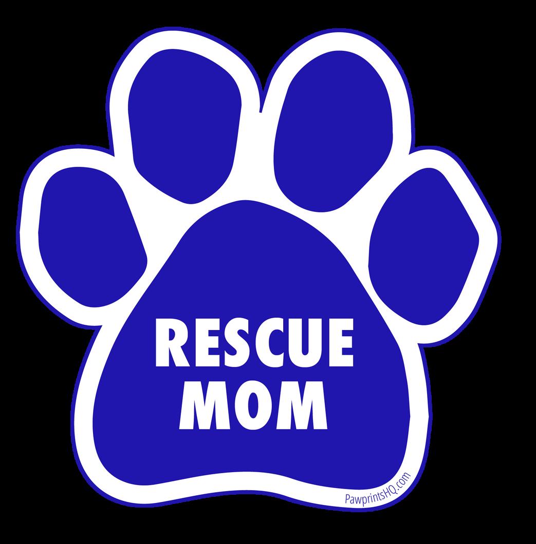 Rescue Mom Sticker
