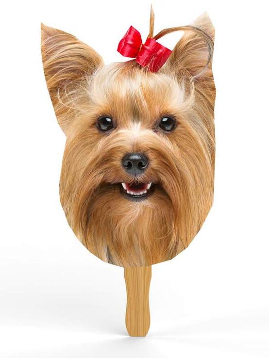 Big Head Yorkshire Terrier Cutouts