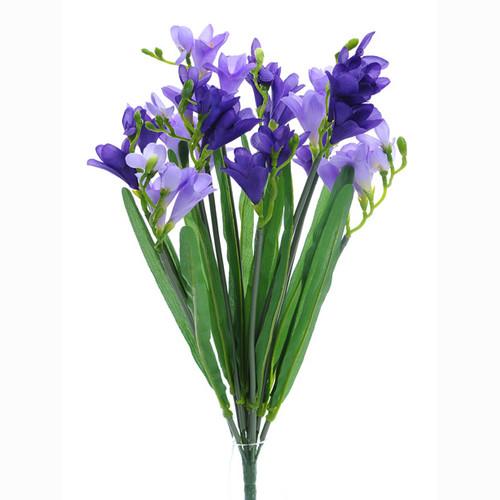 Freesia Bunch Purple 50cm