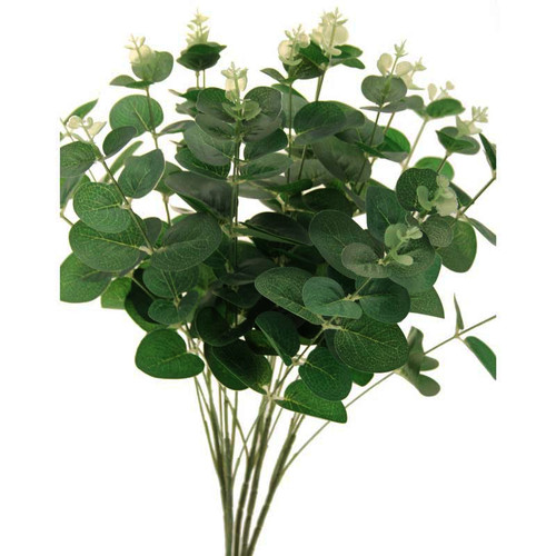 Eucalyptus Bush Green Artificial 52cm/20 Inches