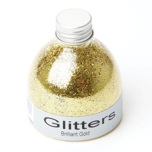 Flower  & Craft Glitter Gold