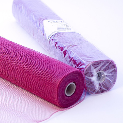 Polynet Floral Wrap by Oasis® -  Burgundy