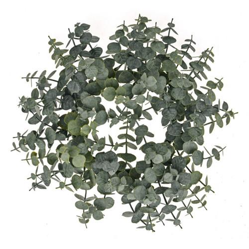Spiral Artificial Eucalyptus Wreath 30cm